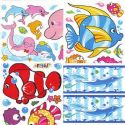 Window stickers Sets, 4 sheets, [001JDC0009]